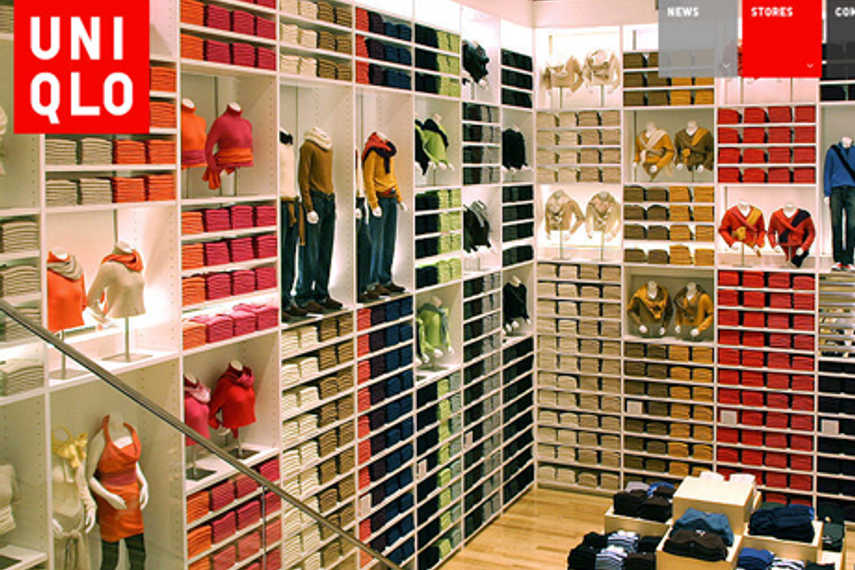 Uniqlo's flagship stores have helped build the brand