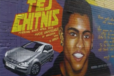 Artists paint murals to make missing persons 'Unmissable'