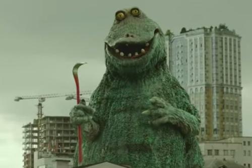 Restaurant chain unleashes vengeful kaiju upon London
