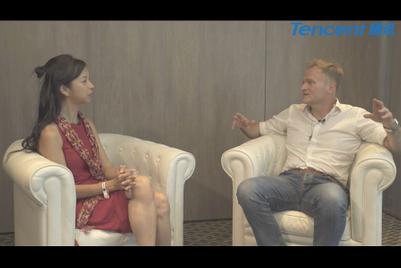 与腾讯合作制作的戛纳视频访问集锦:John Murray