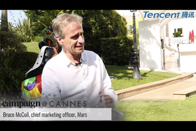 Campaign at Cannes interview: Mars' Bruce McColl