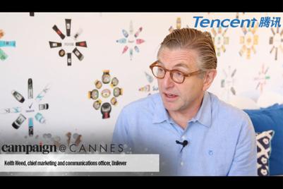 与腾讯合作制作的戛纳视频访问集锦:Keith Weed