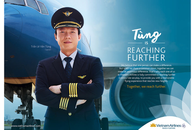 Campaign makes Vietnam Airlines look...really nice