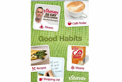 Vitasoy promotes better lifestyle through iPhone app