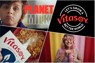 Vitasoy lands on 'Planet milk'