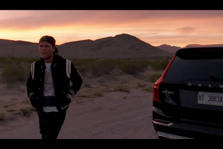 Swedish artist Avicii includes Swedish car in new music video