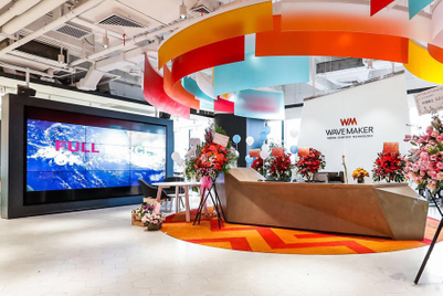 Wavemaker opens for business in China