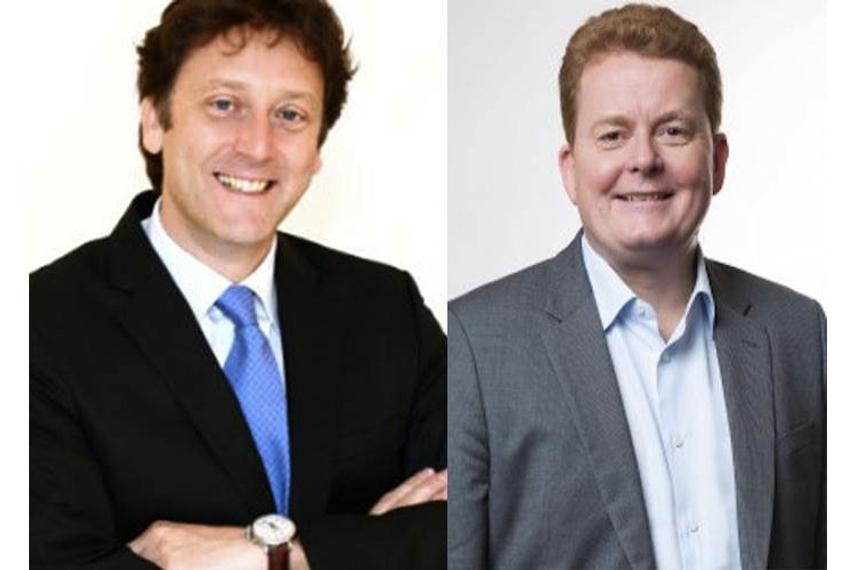 L-R: Andrew Thomas, Andrew Pickup