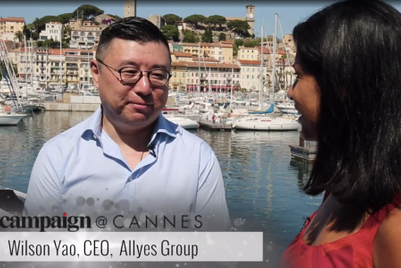 Campaign at Cannes interview: Wilson Yao of Allyes