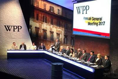 WPP net sales down 1.1% as it talks of 'a changing industry'