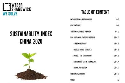 万博宣伟发布《可持续发展中国指数报告》