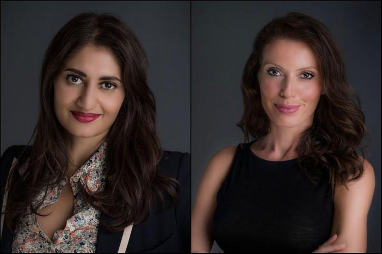 (左)Zarka Khan-Iltaf(右)Naomi Michael