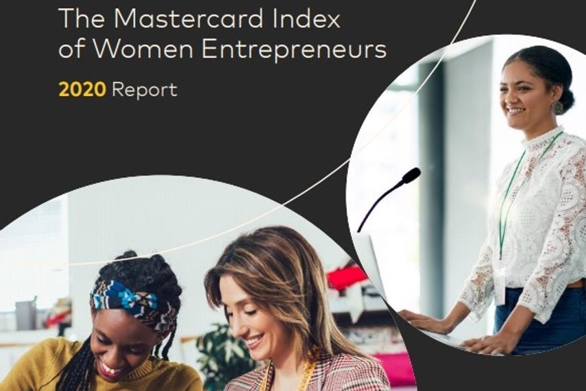 2020《万事达卡女性创业者指数》公布