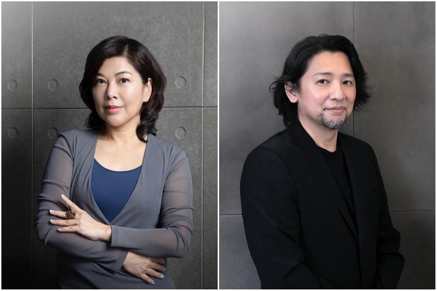 (左)张明玲(Irene Chang)(右)杨荣柏(Kevin Yang)