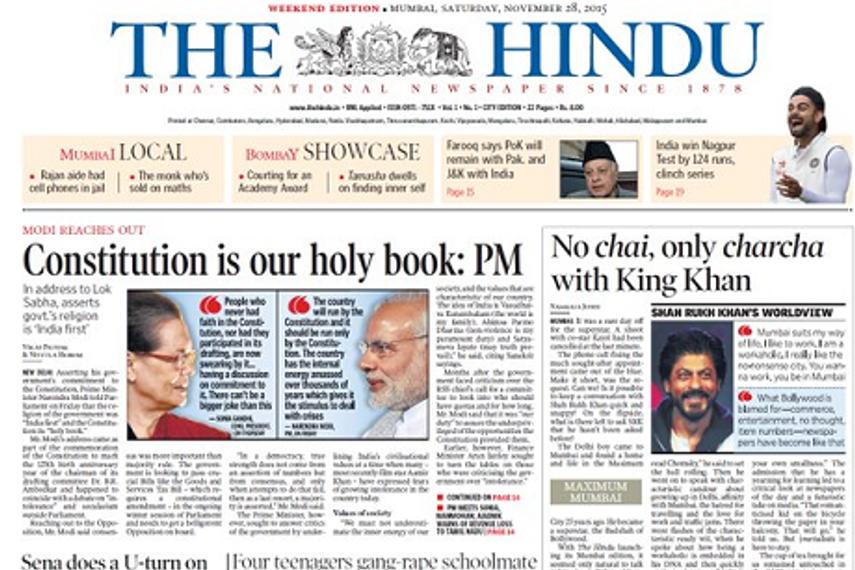 How should you read 'the hindu' newspaper for ias exam preparation.