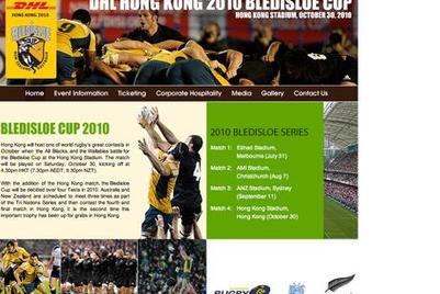 DHL成为香港2010年比迪素杯橄榄球赛冠名赞助商