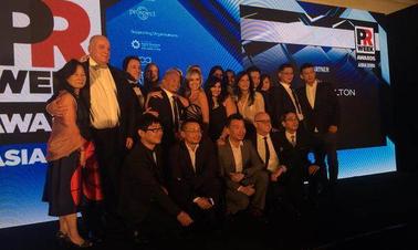 PRWeek Awards Asia:聚焦大中华区金奖得主