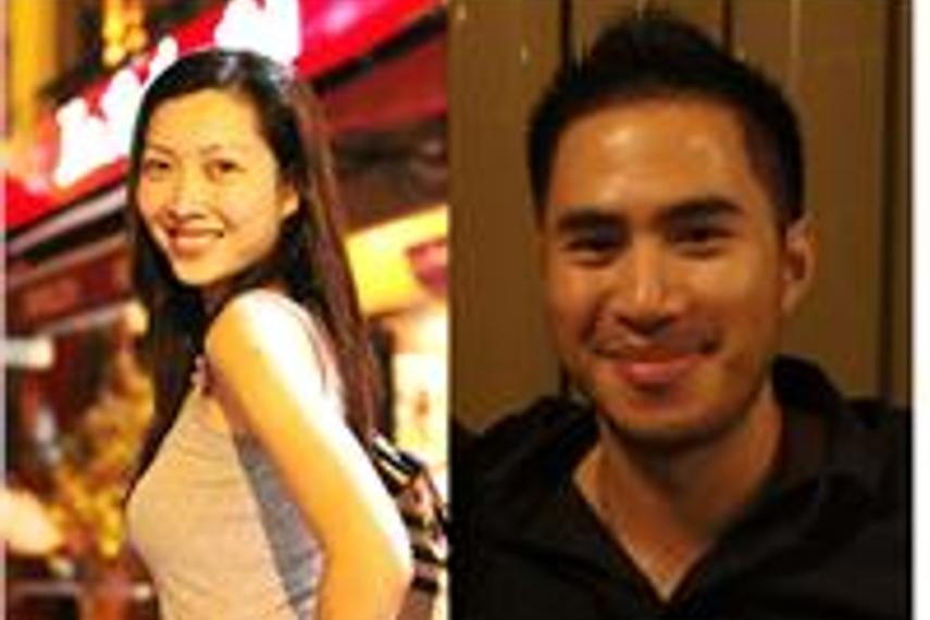 Alison Teh(左),Eric Leong(右)