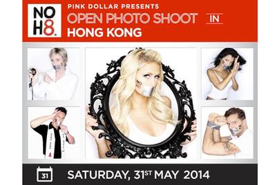 Pink Dollar通过NOH8照片活动在亚太区推动人人平等理念