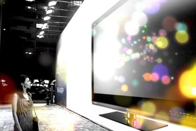 夏普Quattron新广告宣布开启电视新时代