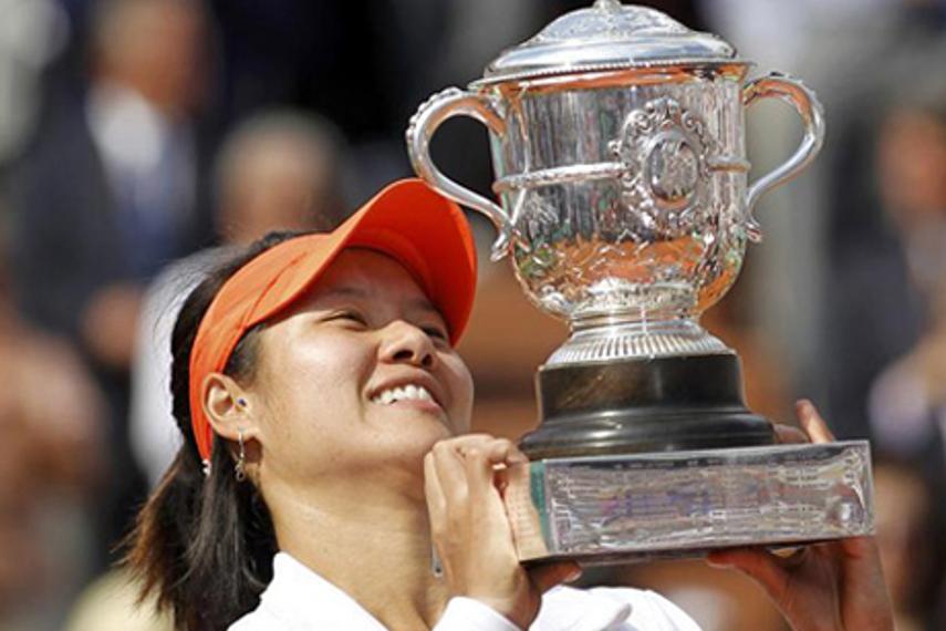 李娜成首位担任奔驰全球品牌大使的中国人