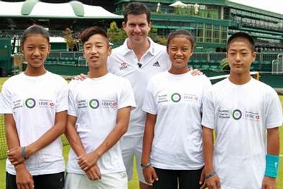 汇丰银行助力打造中国网球未来之星推进基层网球发展