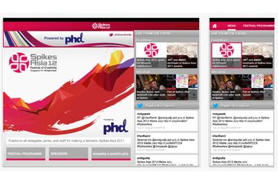 2012年Spikes Asia广告节:下载官方移动应用