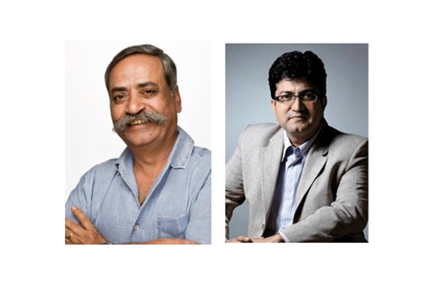 Piyush Pandey(左)和Prasoon Joshi(右)