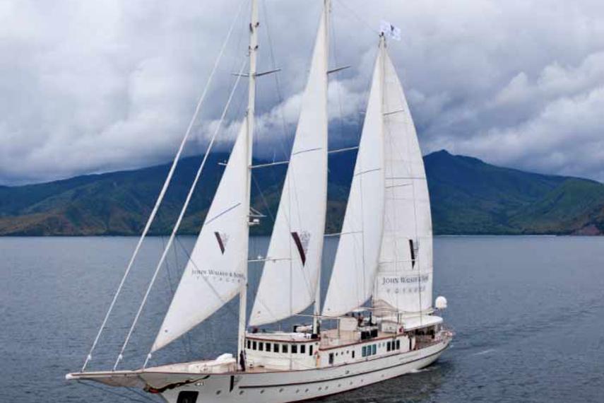 这艘游艇将横渡整个亚洲