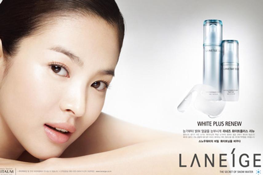 护肤品在日韩十分盛行