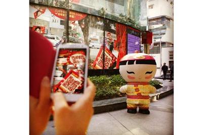 星展银行互动品牌体验传递新春祝福