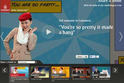 阿联酋航空:用不同的语言分享微笑