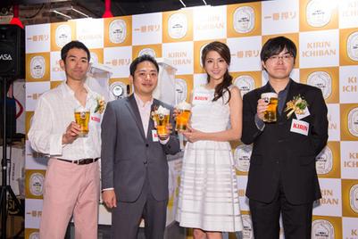 麒麟一番榨啤酒登陆香港,带来仲夏最COOL滋味