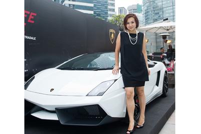 对话兰博基尼香港市场部总经理李家欣:驶入人生快车道