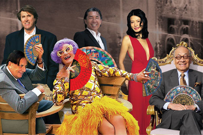 英国波普艺术家助阵香港文华东方酒店50周年华诞