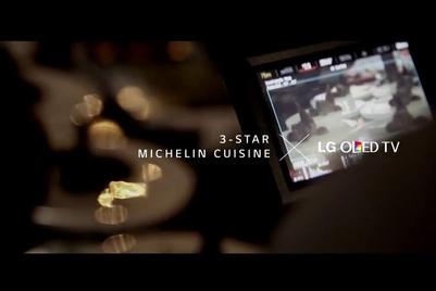 "LG以米芝莲""弧形美食""呈现Curved OLED电视极致原黑画质"