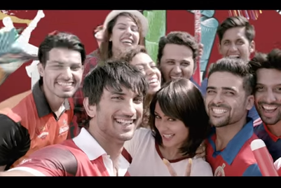 'Original Social Network' Kingfisher takes to the cricket field with Rajput