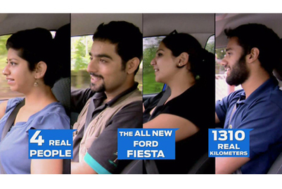 Ford promotes real life experiences as part of 'Ford Fiesta Experience' campaign