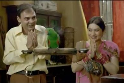Birla Cement gets a talking parrot in its new TVC