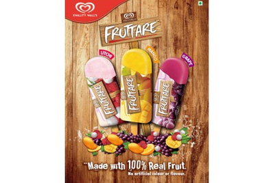 Kwality Wall's launches ice cream brand Fruttare in India