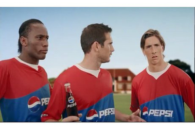 Lampard, Torres, Drogba, Dhoni, Kohli, Raina and Singh feature in Pepsi's latest TVC