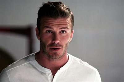 Beckham channels Beethoven in Samsung viral campaign