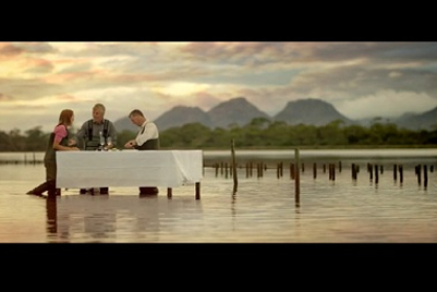 Australia beckons visitors to a table, in 'the most extraordinary dining room on earth'