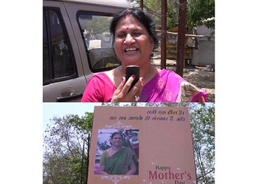 Mudra surprises moms with hoardings, celebrates Mother's Day with staff