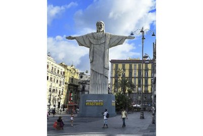 Broadband provider in Italy 'downloads' 'Christ the Redeemer' monument from Rio