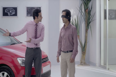 Cardekho.com urges 'Mr I Know' to not only listen but see as well