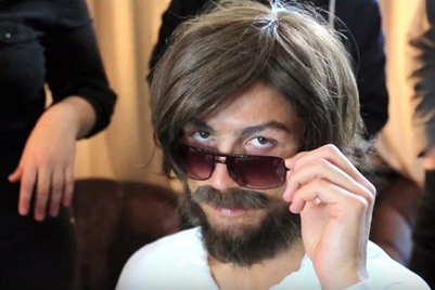 Weekend Fun: Cristiano Ronaldo launches headphones and dresses up as homeless man in promo stunt