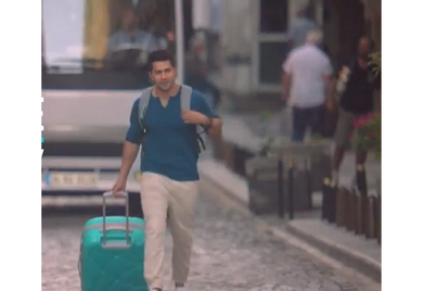 VIP Skybags underlines style quotient with Varun Dhawan and a bus chase