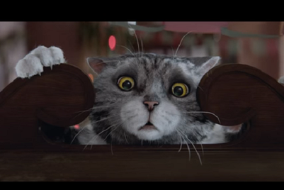 MMGB: Sainsbury's launches 'charming' Christmas TV ad starring Mog the cat
