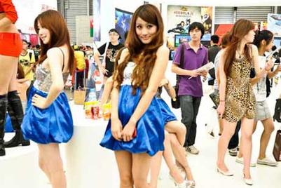 'Show girls' drive online buzz for ChinaJoy : CIC